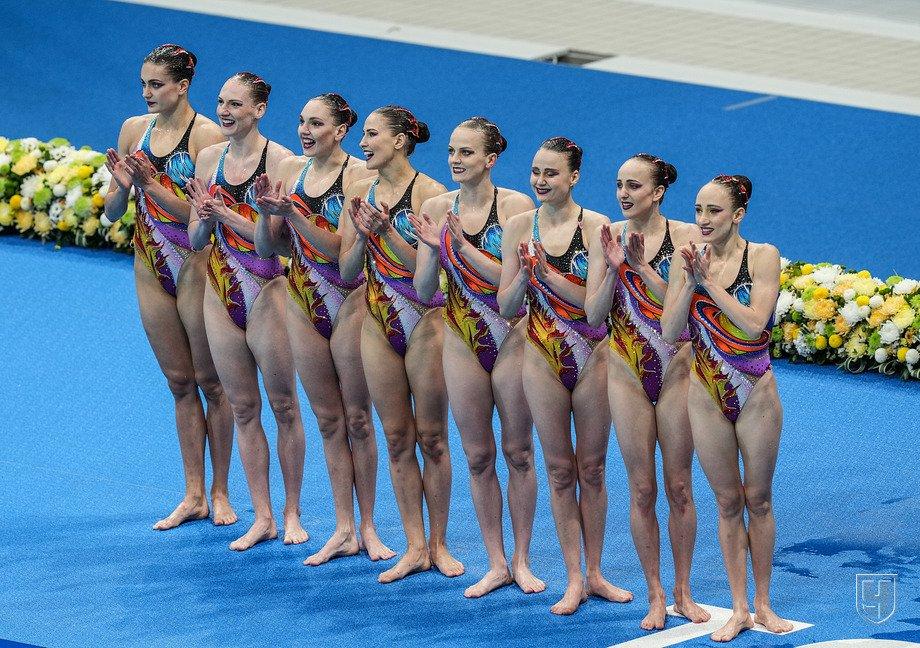 Российские синхронистки завоевали золото Олимпиады-2020 в соревнованиях групп