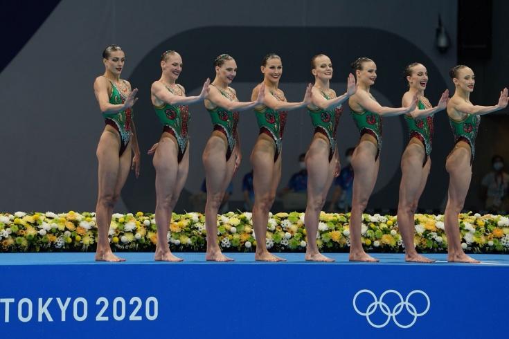 Российские синхронистки стали лучшими в технической программе групп на Олимпиаде-2020
